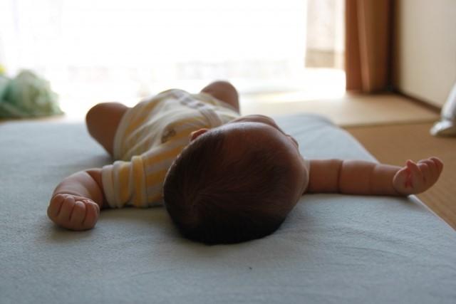 赤ちゃん寝てる