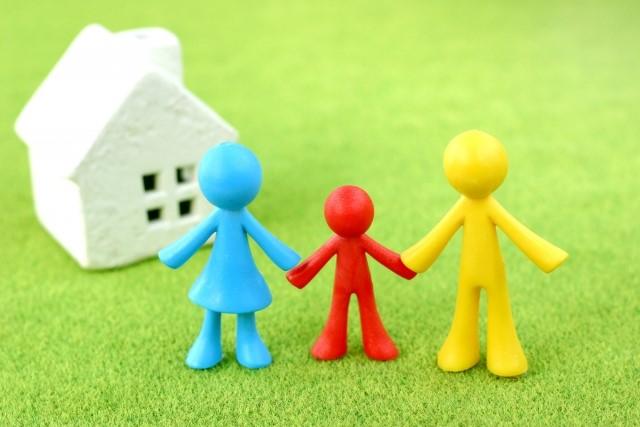 3人家族と家