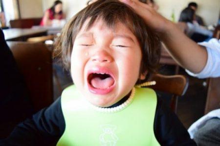 幼児の癇癪