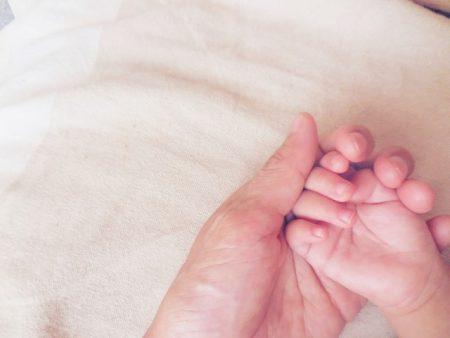 赤ちゃん 冬  寝るとき